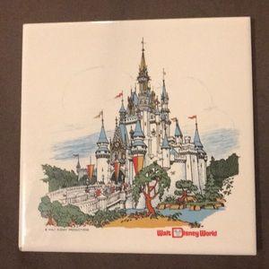 Vintage Disney wall Tile/Trivet